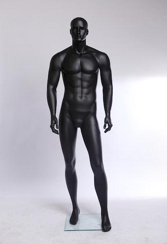 Mallinukke Miehet Mat Musta