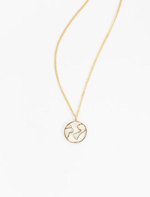 Halsband | Globe Charm