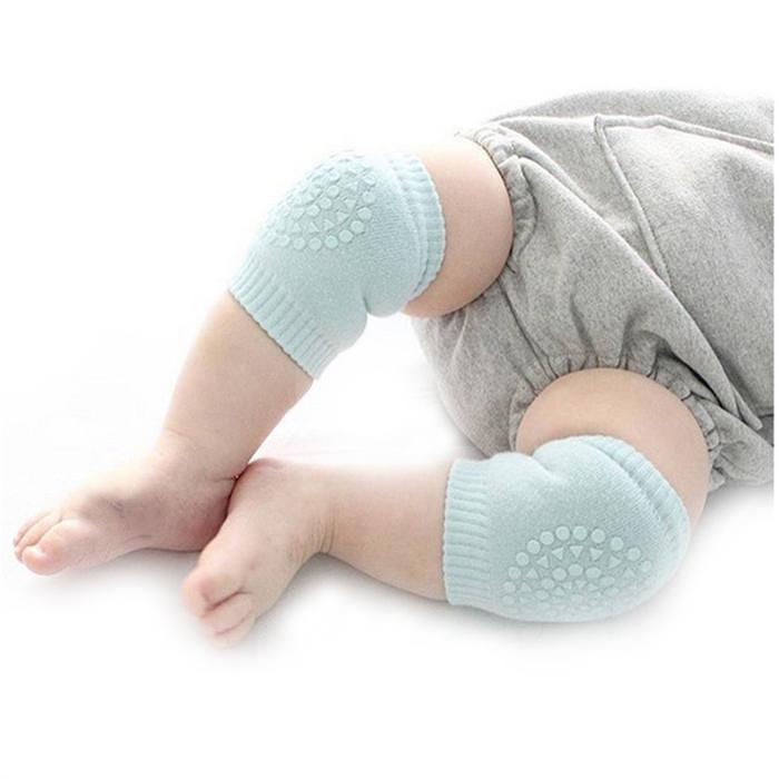 Mjuka knäskydd till bebis
