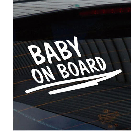 Baby on Board Klistermärken