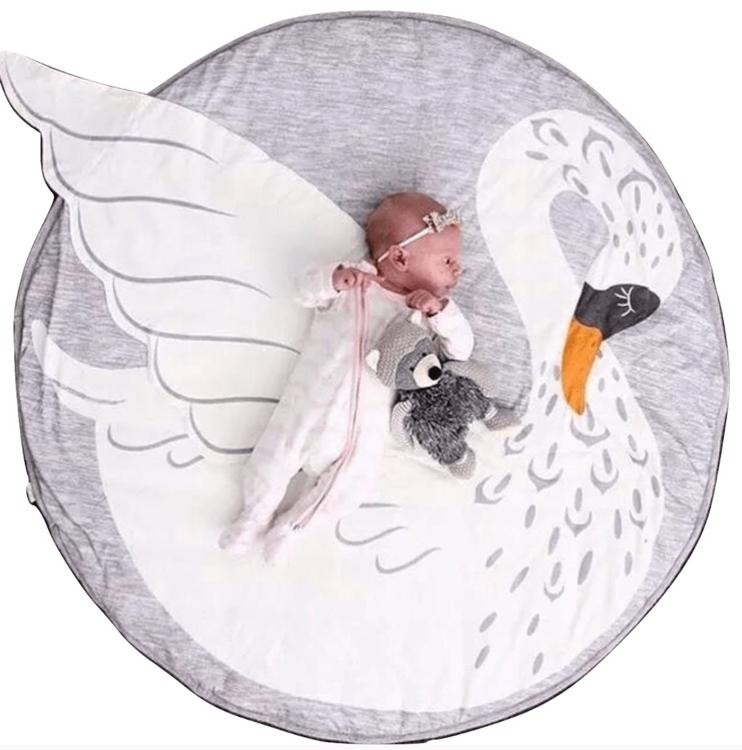 Barnmatta till Baby | Rund
