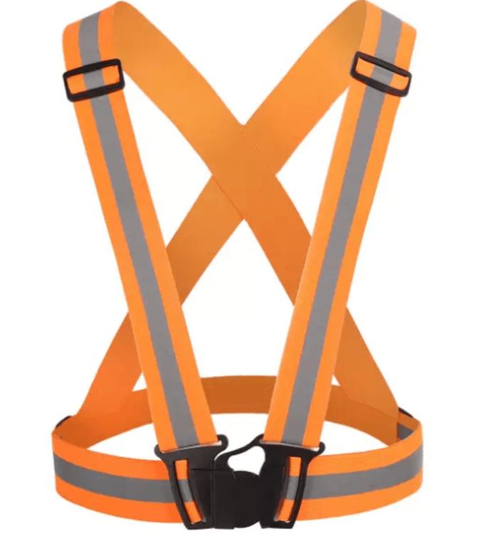 Orange reflexväst för barn