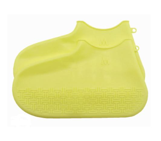 Skoskydd i silikon i gul färg