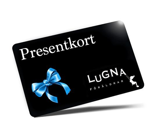 Presentkort som man kan köpa produkter inom barnsäkerhet för.