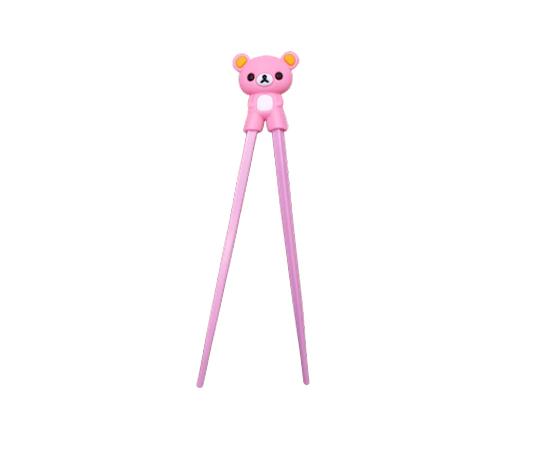 Sushipinnar för barn i form av en rosa björn