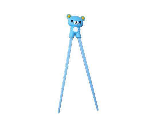 Sushipinnar för barn i form av en blå björn