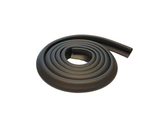 Smalt kantskydd till bord och kanter i färgen svart