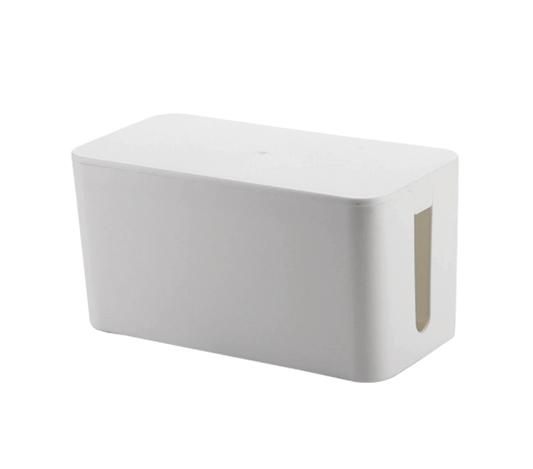 Kabellåda i vit färg