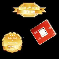 Osynligt Magnetlås | 4-pack | Röd Premium | Skåp och Lådor