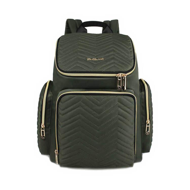 Produktbild på en grön skötväska från Colorland