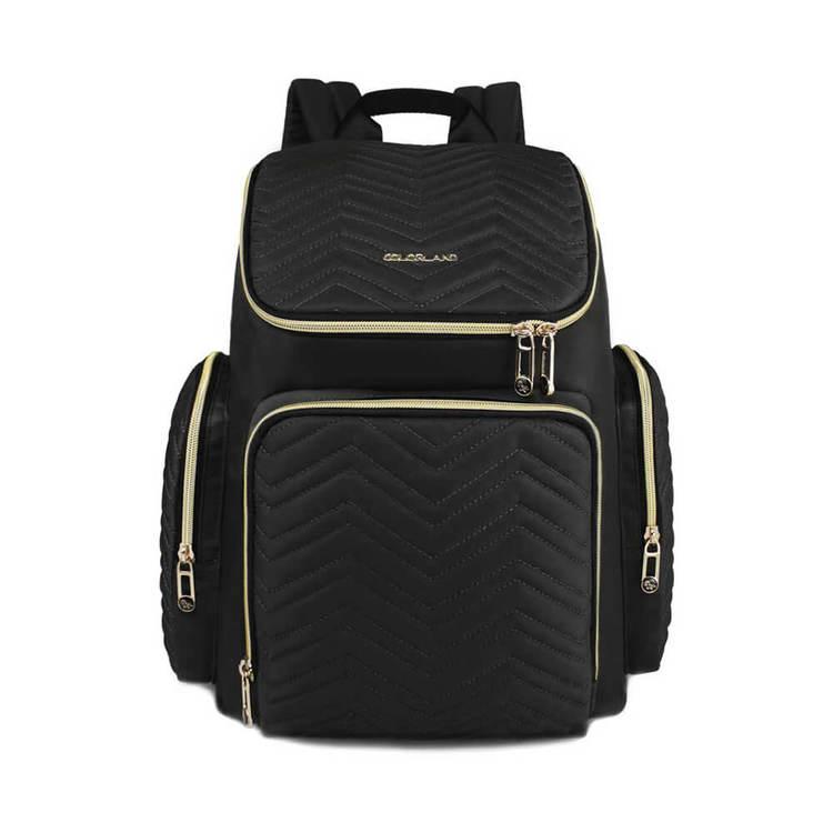 Produktbild på en svart skötväska från Colorland