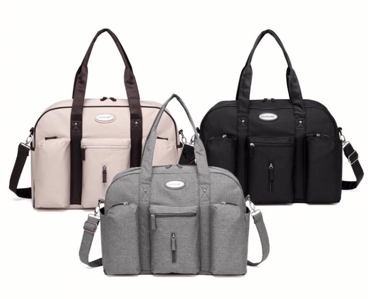 Skötväskan Cassandra i tre olika färger