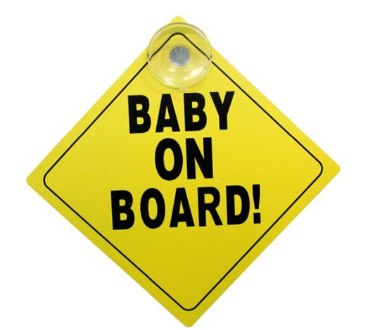 Baby On Board Skylt
