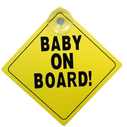 Baby On Board Skylt