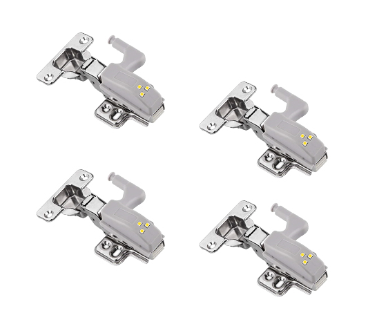 4 styck skåpsbelysning med LED lampor