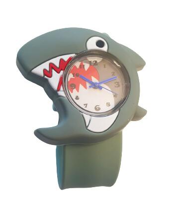 Armbandsur till barn med motiv av en haj