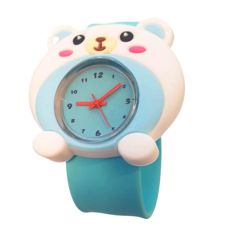 Armbandsur till barn med motiv av en söt björn