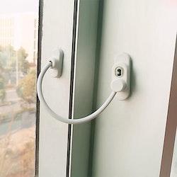 Fönsterlås med Nyckel