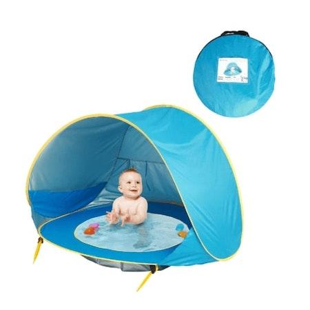UV Tält för Barn | Inbyggd Pool