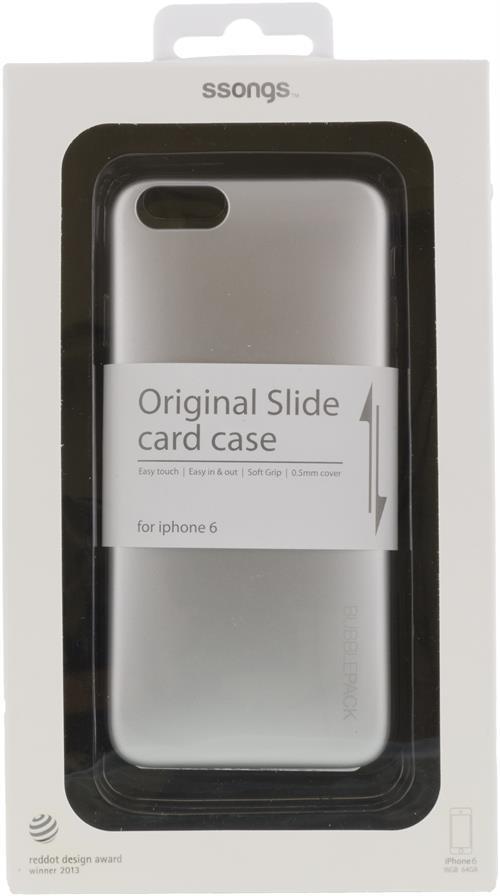 2i1 skal för iPhone6 termoplast på insidan & hårdplast på utsida