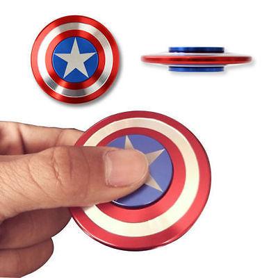 Fräck Fidget Spinner av Metall, Captain America