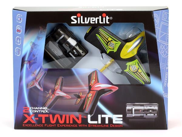 X-Twin Lite Radiostyrt plan med grym styrförmåga