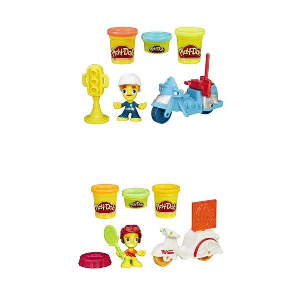 Play-Doh Town Mini Vehicle, figur, fordon & redskap