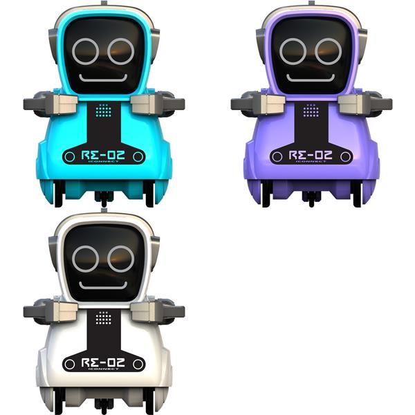 Fräck liten söt robot Pokibot Re-02 i olika färger