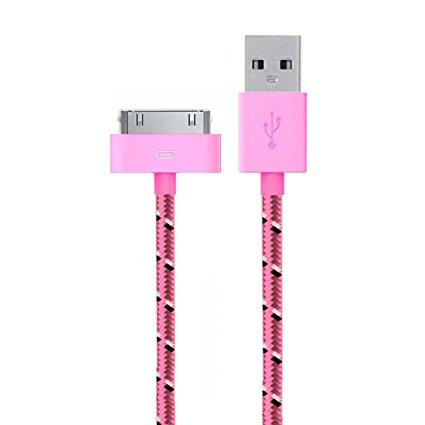Laddning kabel 30pin för Apple 3 meter Braided i snygga färger