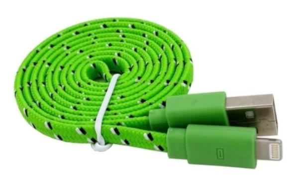 Trend Lightning kabel 1 meter Braided för Apple i snygga färger