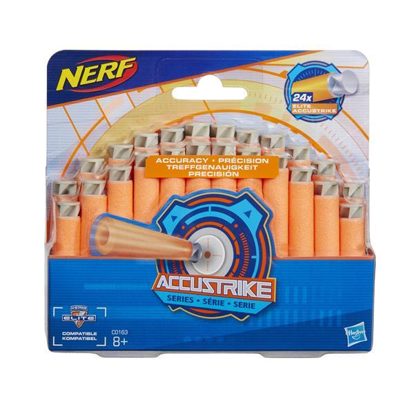 Nerf N'strike Elite Accustrike 24 Dart Refill, extra pilar 24st