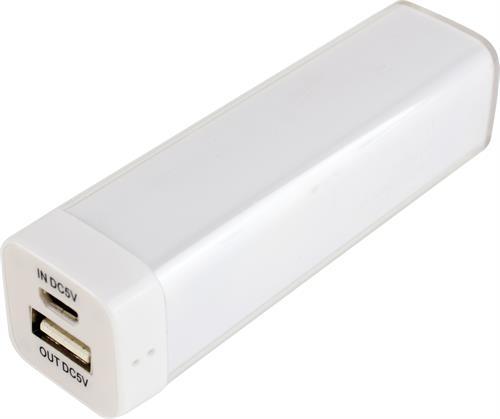 Power bank, portabelt batteri för laddning av mobila enheter, 2200mAh
