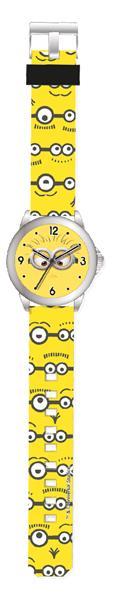 Minions analog klocka, perfekt för barn att lära sig klockan