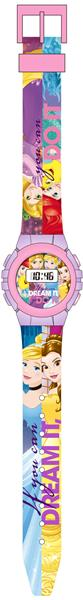 Digital armbandsklocka med härliga & färgglada motiv från Disney