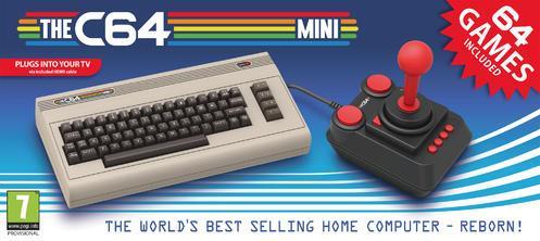 The C64 Mini Commodore 64 i miniformat med 64 klassiska spel
