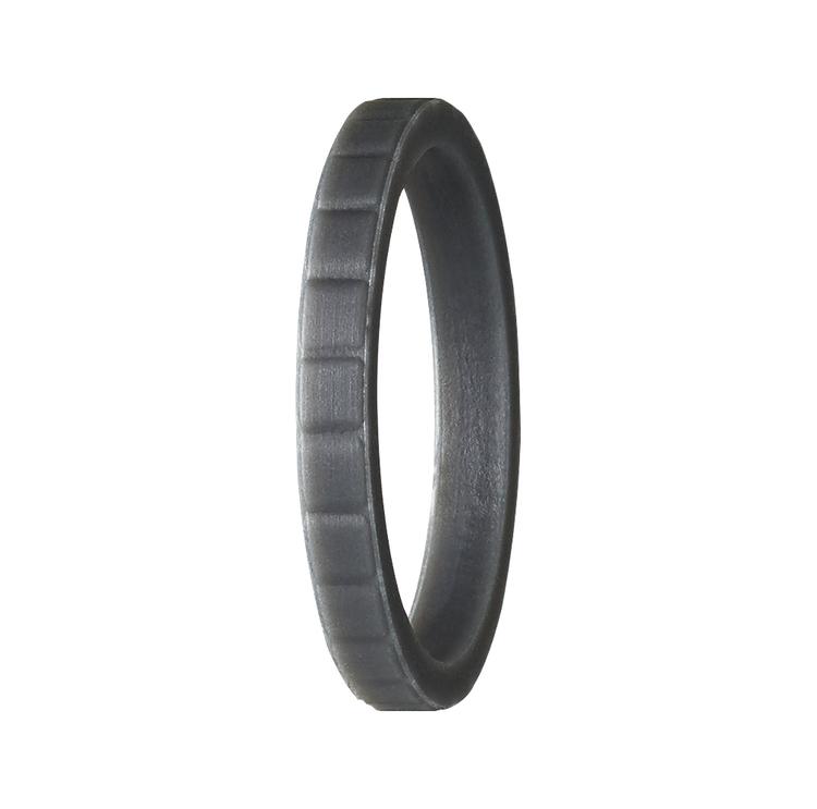 Silikonring från PACT Rings. En ring som är perfektt att träna. Träningsringen. En vigselring i silikon. En förlovningsring för träning, gjord i silikon.