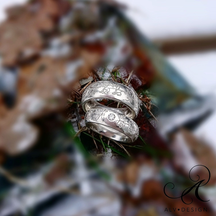 MURGRÖNA diamantring