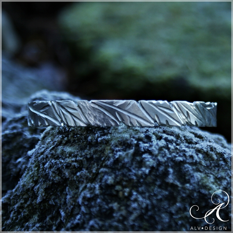 BLAD armband i silver