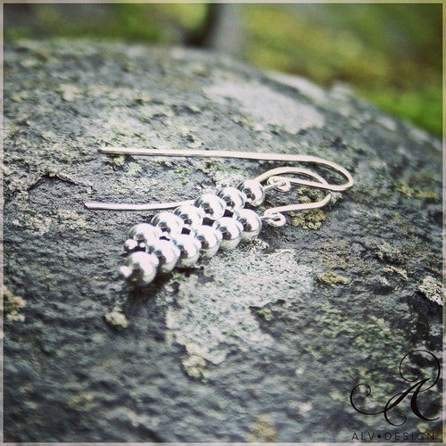 DROPPAR örhängen i silver
