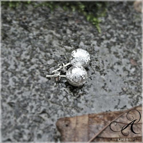 DAGG örhängen i silver