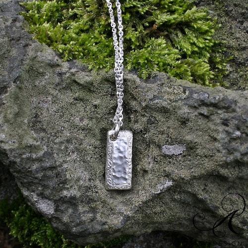 NJORD halsband i silver