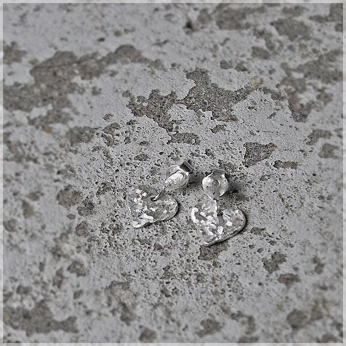 Mitt Unika Hjärta örhängen i silver