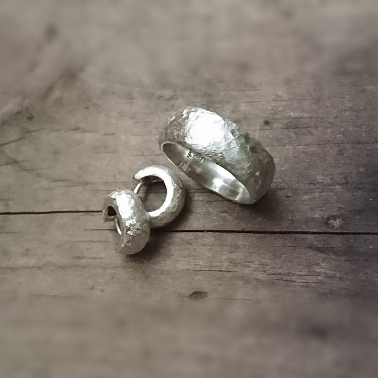 IDUN örhängen i silver