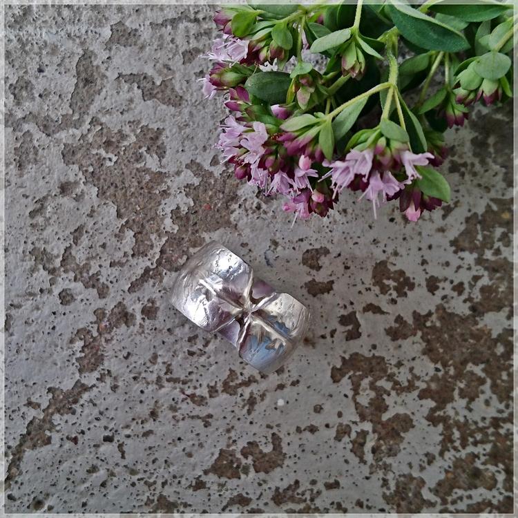 KRYDDRIK silverring