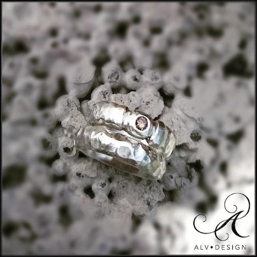 ESTHER W diamantring