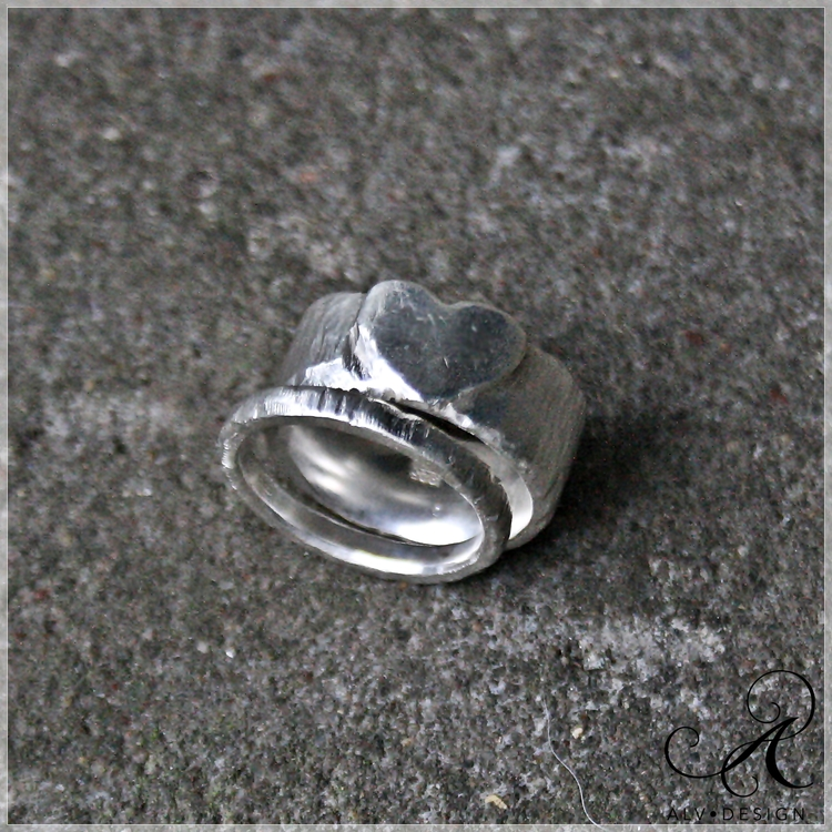 HJÄRTAT silverring