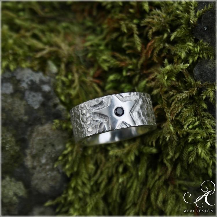 NATTSTJÄRNA Diamantring