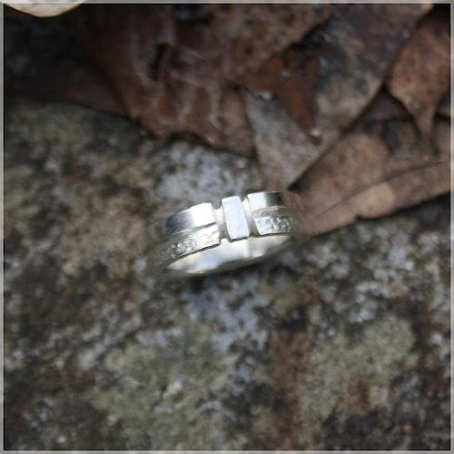 GEMINI silverring