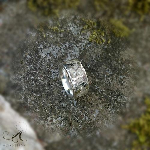 NATUR silverring