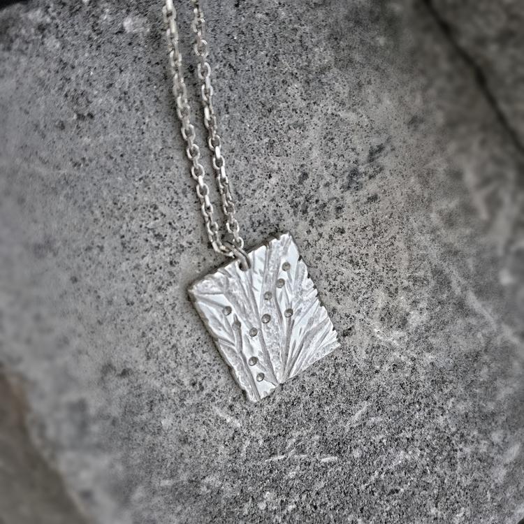 NATUR halsband i silver